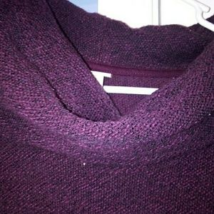 Maroon cowl neck merona sweater